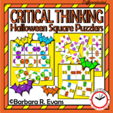 Halloween Square Puzzlers
