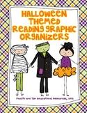 Halloween Themed Reading Graphic Organizers