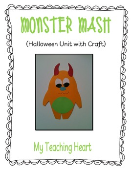 Halloween Unit with Craftivity: Monster Mash