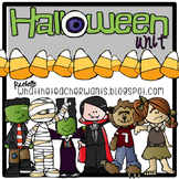Halloween Unit with literacy, math and art