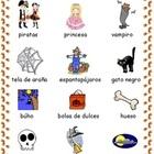 Halloween Vocabulary Spanish