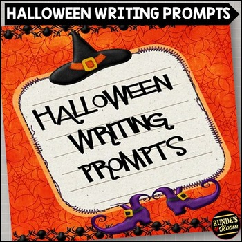 Halloween Writing Prompts and Stationery