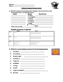 Halloween Writing Sentences (review)