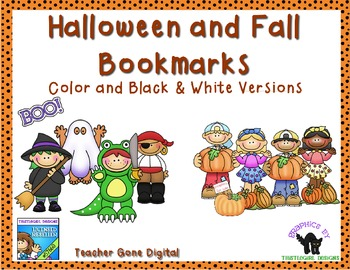 Halloween and Fall Bookmarks