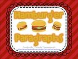 Hamburger Paragraph Writing
