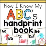 Handprint Alphabet Book