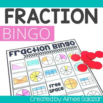 Hands-On Fraction Bingo! (Common Core Aligned)