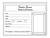 Handwriting License
