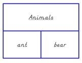 Handwriting Practice Cards - Manuscript