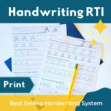 Handwriting RTI - Print