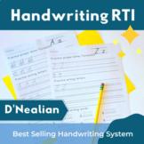 Handwriting D'Nealian