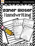 Handwriting - Zaner Bloser