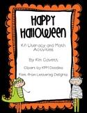 Happy Halloween: K/1 Math and Literacy Fun