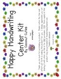 Happy Handwriting Center kit