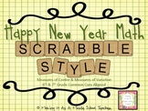 Happy New Year Math ~ Scrabble Style {Common Core Aligned}