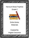 Harcourt Brace Trophies Second Grade complete series materials