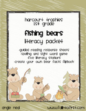 "Harcourt Trophies ""Fishing Bears"" Liteacy Packet"