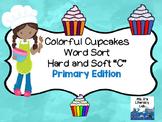 Hard C & Soft C Word Sort {Primary}