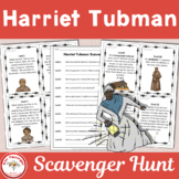 Harriet Tubman Scavenger Hunt