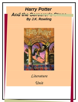 Harry Potter and the Sorcerer's Stone Literature Unit