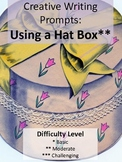 """""""Hat Box"""" Writing Creative Prompts Ready to Use Cards"""