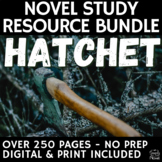 Hatchet Literature Guide - Questions, Literary Analysis, Q