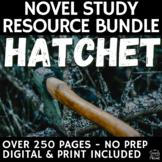Hatchet Literature Guide - Questions, Literary Analysis, Q