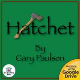 Hatchet Novel Study CD