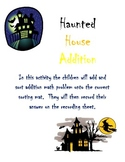 Haunted High Literacy and Math Stations