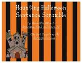 Haunting Halloween Sentence Scramble
