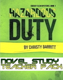 Novel study: Hazardous Duty by Christy Barritt