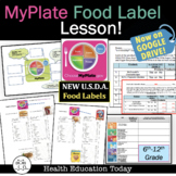 "Health Lesson: ""Is This Product Healthy?"" Food Label Scramble!"