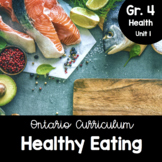 {Grade 4} Healthy Eating with Canada's Food Guide Activity Packet