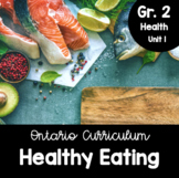 {Grade 2} Healthy Eating with Canada's Food Guide