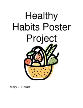 Healthy Habits Poster Project