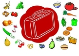 Healthy Lunches: a colour sorting SMARTboard activity
