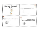 Heat and Changes in Matter