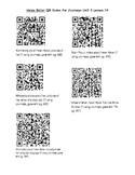 Helen Keller QR Codes (Journeys Unit 3 Lesson 14)