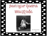 Helen Keller Research with QR Codes