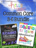 Hello Common Core Reading BUNDLE: RL & RIT Packs {3-6}
