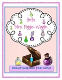 Hello, Mrs. Piggle Wiggle - Guided Reading Cards