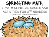 Hello Spring! {6 Math Games and Activities}