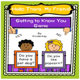 Hello There My Friends! A Getting to Know you Game for Lit