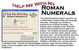 Help Me With My Roman Numerlas