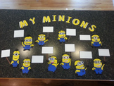 Minions from Despicable Me Helper Board