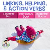 Helping Verbs, Linking Verbs Activity Pack