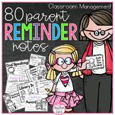 Parent Reminder Notes {Grab, Copy, and Go}