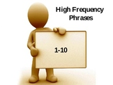 High Frequency Phrases Set #1- FREE!