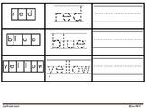 High Frequency Word Book for Kindergarten* Practices Readi