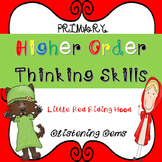 Higher Order Thinking Skills - task cards